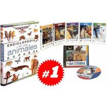 Enciclopedia De Los Animales 1 Vol + 5 Dvds + 1 Cd Rom