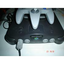 Nintendo 64 + 3 Juegos A Escoger Paquete 3b