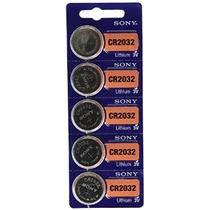 Baterías Sony 3v De Litio Cr2032 (4 Ampollas De 5) 20 Célula
