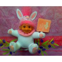 Troll De Peluche Vestido De Conejo