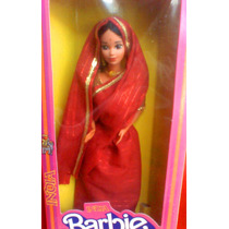 Barbie India De Princesas Del Mundo Del Ano De 1980s