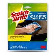 Scotch-brite® 3m Paño Mágico Microfibra Limpia Sin Rayar
