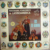 Los De Ramon, Panorama Folkloricode Latinoamerica, Lp 12´,