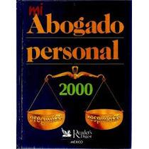 Libro Mi Abogado Personal, 2000 Preguntas Y Respuestas.
