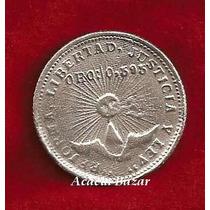 Moneda Revolución Mexicana 2 Pesos Guerrero Plata
