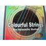 Cuerdas De Colores Guitarra Acústica, Eléctrica Envió Gratis