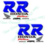 Kit De Stickers Calcomanias Para Moto Honda Cbr 250 Rr