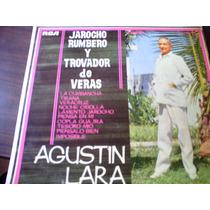 Disco Acetato De Jarocho Rumbero Y Trovador Agustin Lara