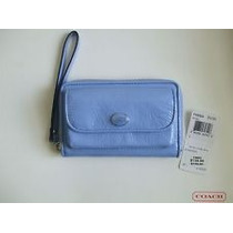 Cartera Monedero Multicolor P/ Celular Coach 100% Original