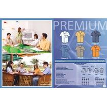 Camisa De Vestir P/ Uniforme,bordadoras,serigrafia Rm4