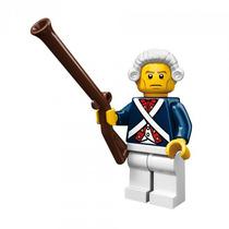 Lego 71001 Minifigure Serie 10 Soldado Revolucionario !! Vmj