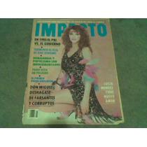 Revista Impacto Lucia Mendez 1985