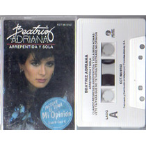Audio Cassette Beatriz Adriana, Arrepentida Y Sola