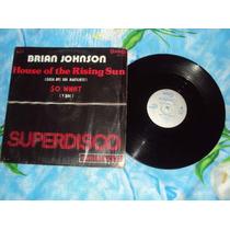 Brian Johnson Casa Del Sol Naciente Single 12 Lp