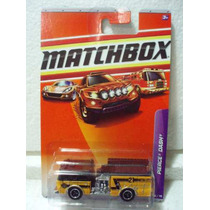 Matchbox Camion Bomberos Pierce Dash Amarillo 56/75 1/123