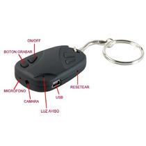 Llavero Camara Espia Miniatura Tipo Control De Auto