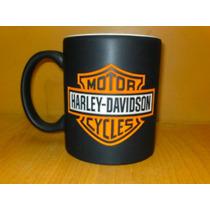 Taza Grabada Harley Davidson