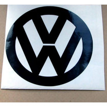 Set 2 Stickers Vw Camper Logo Tuning Vinil Automovil Deco