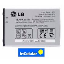 Pila Bateria Lgip400n Lg Gt540 Gm750 Gw800 P500 Gw820 Gw620