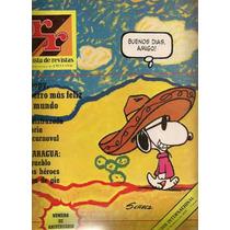 Snoopy Charlie Brown En Revista Mexicana Gigante De 1978