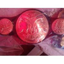 Nuevo Cinturon De La Wwe P/niño De Parejas Unificados.