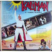 Nvd. Lp 12´, Kaliman , Banda Sonora ,