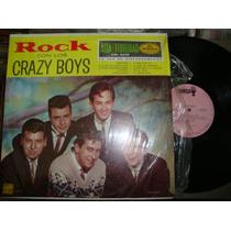 Crazy Boys L.p. De 33 Rpm De 12 . Niño Popis