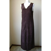 Rj Collection Vestido Largo Color Chocolate! Vst582