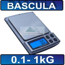 Bascula Gramera Joyera Digital 0.1 - 1000g Portatil