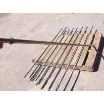 Barrena Pulseta Barras De 7/8 Para Perforadora Neumatica