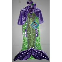 Halloween Disfraz Sirena Mermaid Envio Gratis