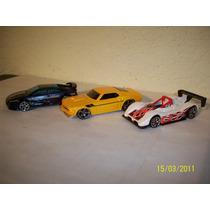 Hot Wheels Lote3 Coches Ferrari 333 Mustang 69 Lotus Esprit