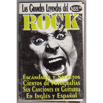 Revista Las Grandes Leyendas Del Rock # 1, Con Cancionero