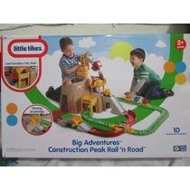 Juego De Construcción Con Tren Y Grua Little Tikes Original