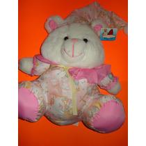 Peluche Oso Grande Con Pijama Angel Toy Caricatura Bear