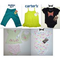 Lote Nina Bebe 6 A 9 Meses Carter