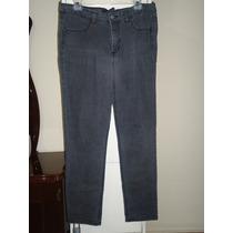 Pantalon D Mezclilla Gloria Vanderbilt Gris Dama Talla 12-38