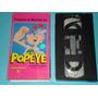 Vhs Popeye El Marino Vol 2 Caricatura Infantil Pelicula