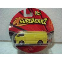 Supercarz Camioneta Van Toyota Hiace Metal 1:64