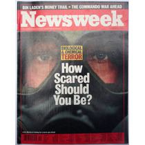 Revista Newsweek October 8 How Scared Should You Be? 2001