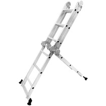 Escalera Articulada 3.5mts Plegable Aluminio Multifuncional
