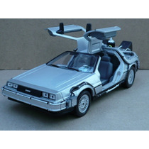 Volver Al Futuro 2 Delorean Dmc 1985 Esc: 1/24 Welly Wsl