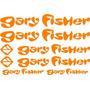 Jgo De 8 Calcomanias Para Bicicleta Gary Fisher
