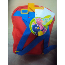 Backyardigans Mochilita Kinder Y Maternal $350.00 Maa