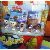 Snnubie Set 2 De Perritos Miniatura Cabezones