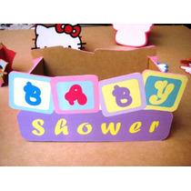 Cajita De Madera Para Centro De Mesa Baby Shower Niño O Niña