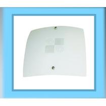 Lámpara Para Techo - Diseño Cuadros - Cristal Traslucido
