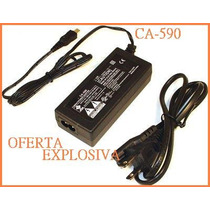 Adaptador D/corriente Ca-590 P/camara De Video Canon Zr-900