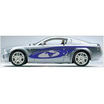 Sticker Franja Lateral Tuning, Jetta, Mustang Corsa