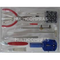 Kit De Herramientas Para Relojeros Joyeros Practico 16 Pzas